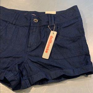 NWT Dollhouse cotton shorts